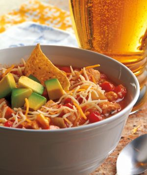 Jenna's Chicken Tortilla Soup. Image from www.crockingirls.com