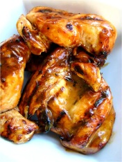 Honey Dijon BBQ Chicken. Image from www.familyfeedbag.com