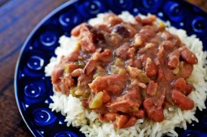Red Beans and Rice. Image from www.simplyrecipes.com