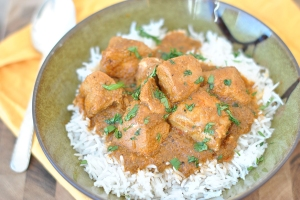 Slow Cooker Coconut Curry Chicken. Image from www.tastykitchen.com
