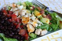 Southwestern Cobb Salad . Image from www.ourbestbites.com