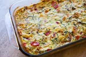 Zucchini Breakfast Casserole. Image from www.simplyrecipes.com