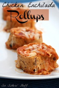 Chicken Enchilada Rollups. Image from www.sixsistersstuff.com.