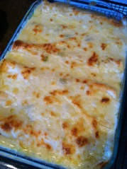 White Chicken Enchiladas. Image from www.joyful-mommas-kitchen.blogspot.com