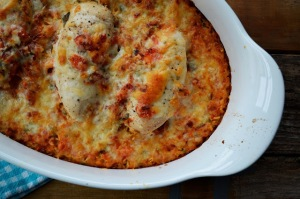 Salsa Chicken and Rice Casserole. Image from www.familyfeedbag.com