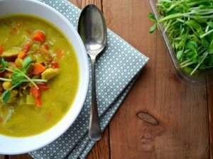 Chicken Curry Soup. Image from www.familyfeedbag.com.